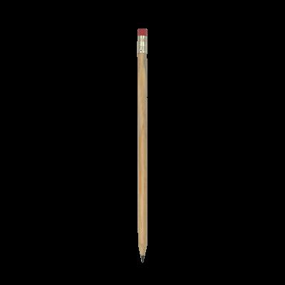 Lápiz Faber Castell® natural con borrador